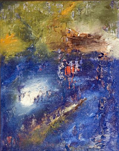Gisela Rosenberger, Licht, Acryl