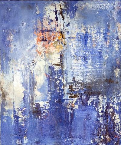 Licht aus der Tiefe (2012), Acryl, 50 x 60 cm