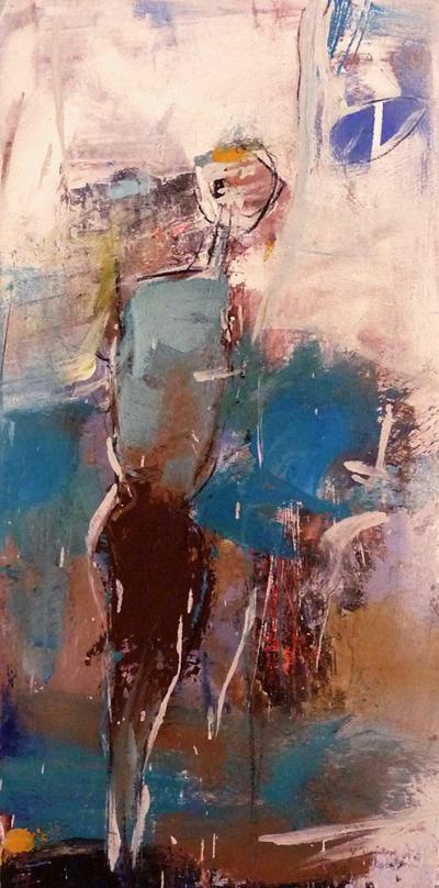 Der Mensch–Malerei_Gisela Rosenberger