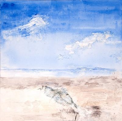 Am Meer–Malerei_Gisela Rosenberger