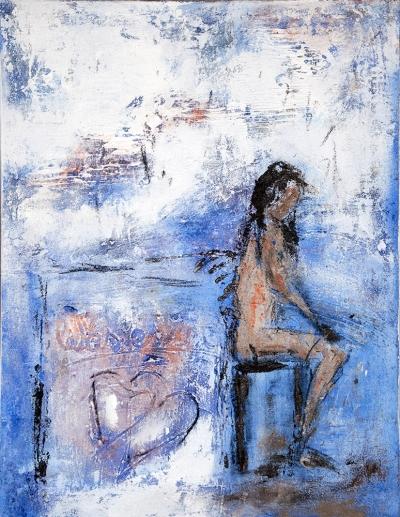 Was es ist II (2012), Acryl, 80 x 60cm