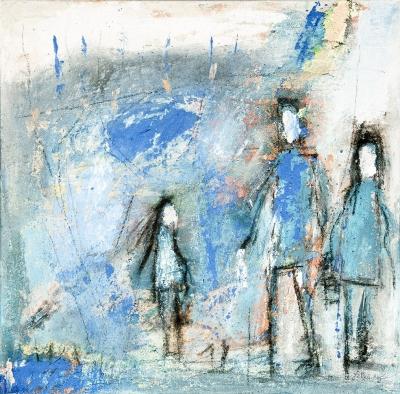 Spaziergang –Malerei_Gisela Rosenberger