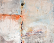 Gisela Rosenberger, Acryl, Tod einer Möwe