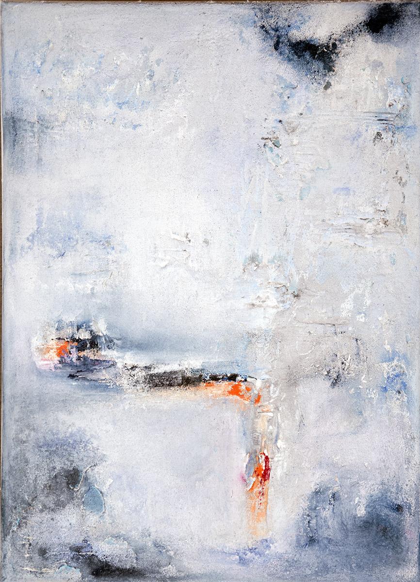 Gisela Rosenberger, Eiszeit, Acryl
