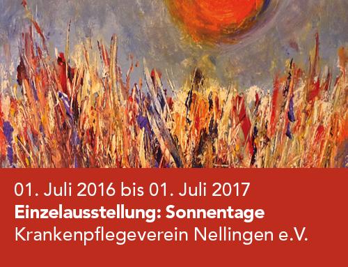 Einzelausstellung Krankenpflegeverein Ostfildern-Nellingen (2016–2017)