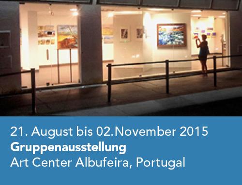 Gruppenausstellung Art Center Albufeira/Portugal