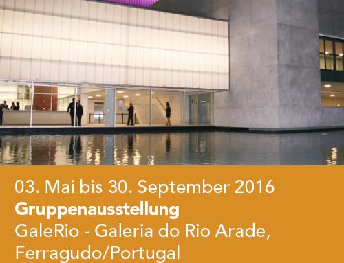 Gruppenausstellung, galerio, Galeria do Rio Arade, Ferragudo/Portugal (2016)