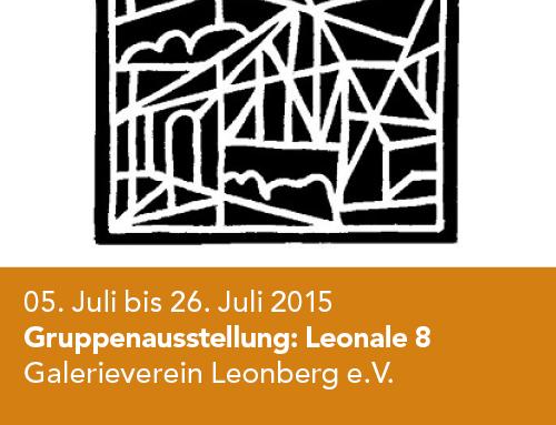 Gruppenausstellung Galerieverein Leonberg, Leonale 8 (2015)