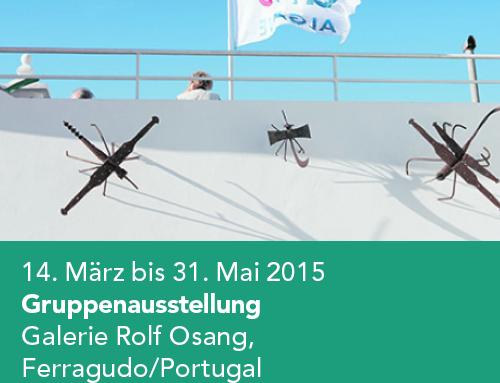 Gruppenausstellung Galerie Rolf Osang, Ferragudo/Portugal (2015)