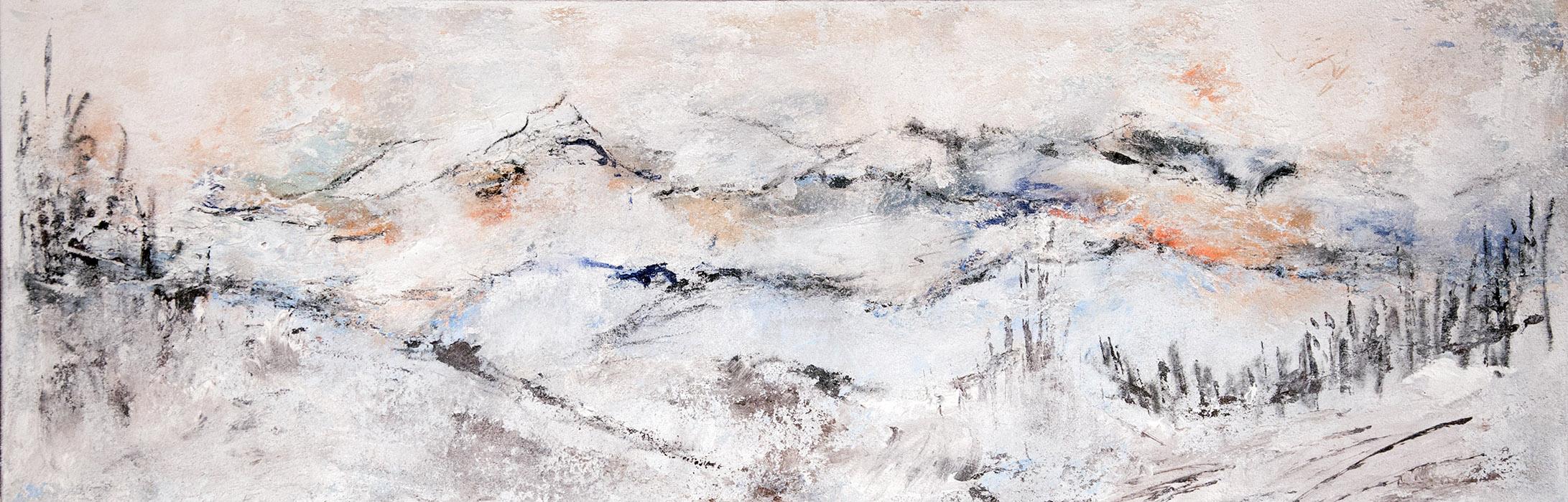 Winter–Malerei_Gisela Rosenberger