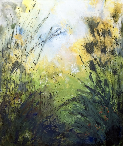 Wildnis–Malerei_Gisela Rosenberger